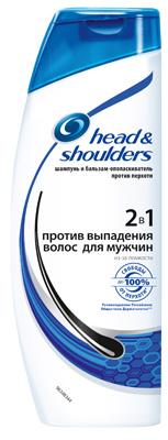 мужская коллекция head&shoulders против выпадения волос
