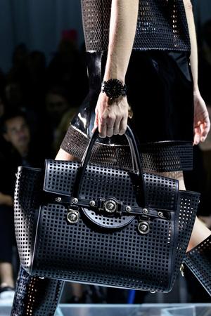 На фото: модная сумка весна лето 2015 – Versace