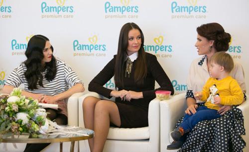 премьеры нового продукта Pampers – трусиков Pampers Premium Care.