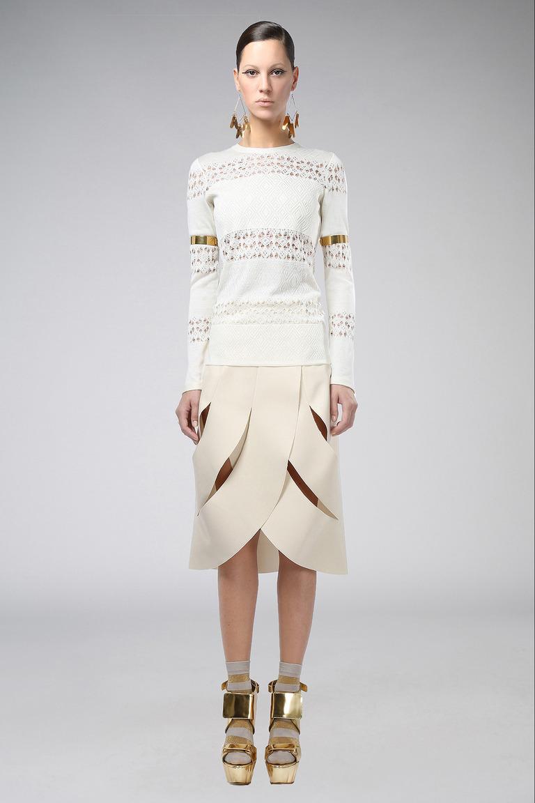 Модная юбка трапеция весна лето – фото новинка в коллекции Agnona