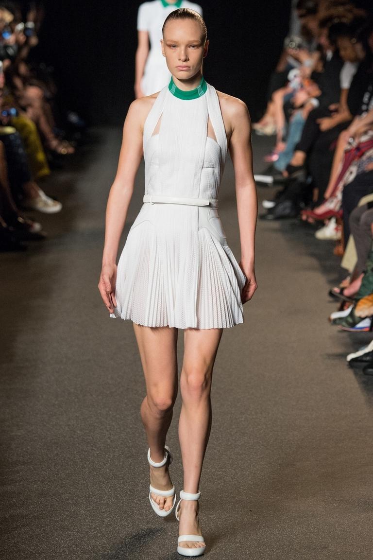Белая пышная короткая модная юбка весна-лето – Alexander Wang