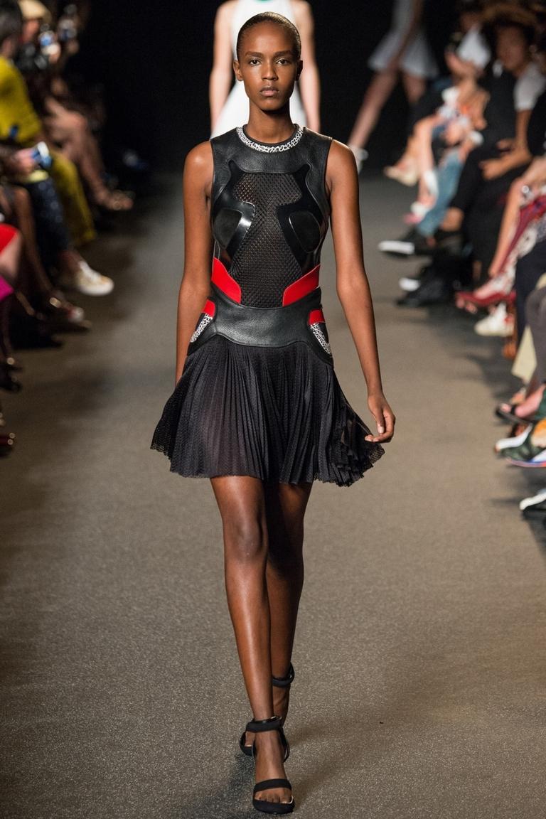 Модная пышная юбка весна лето – Alexander Wang