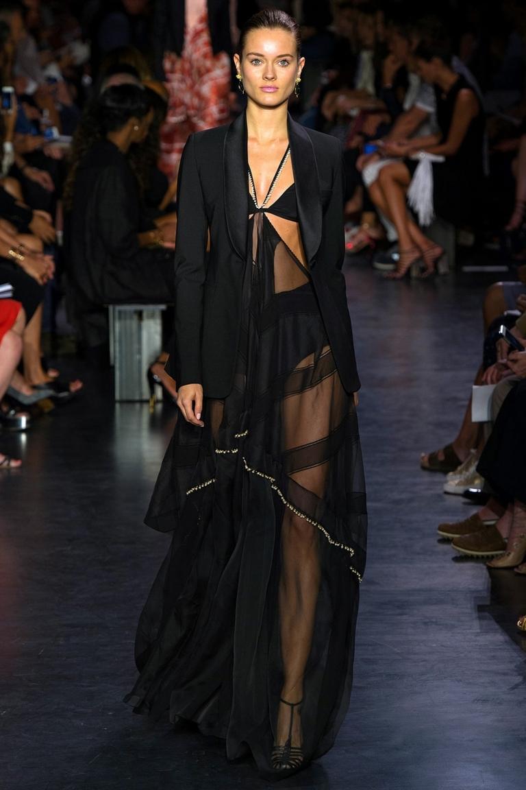 Модная прозрачная длинная юбка – фото новинки в коллекции Altuzarra