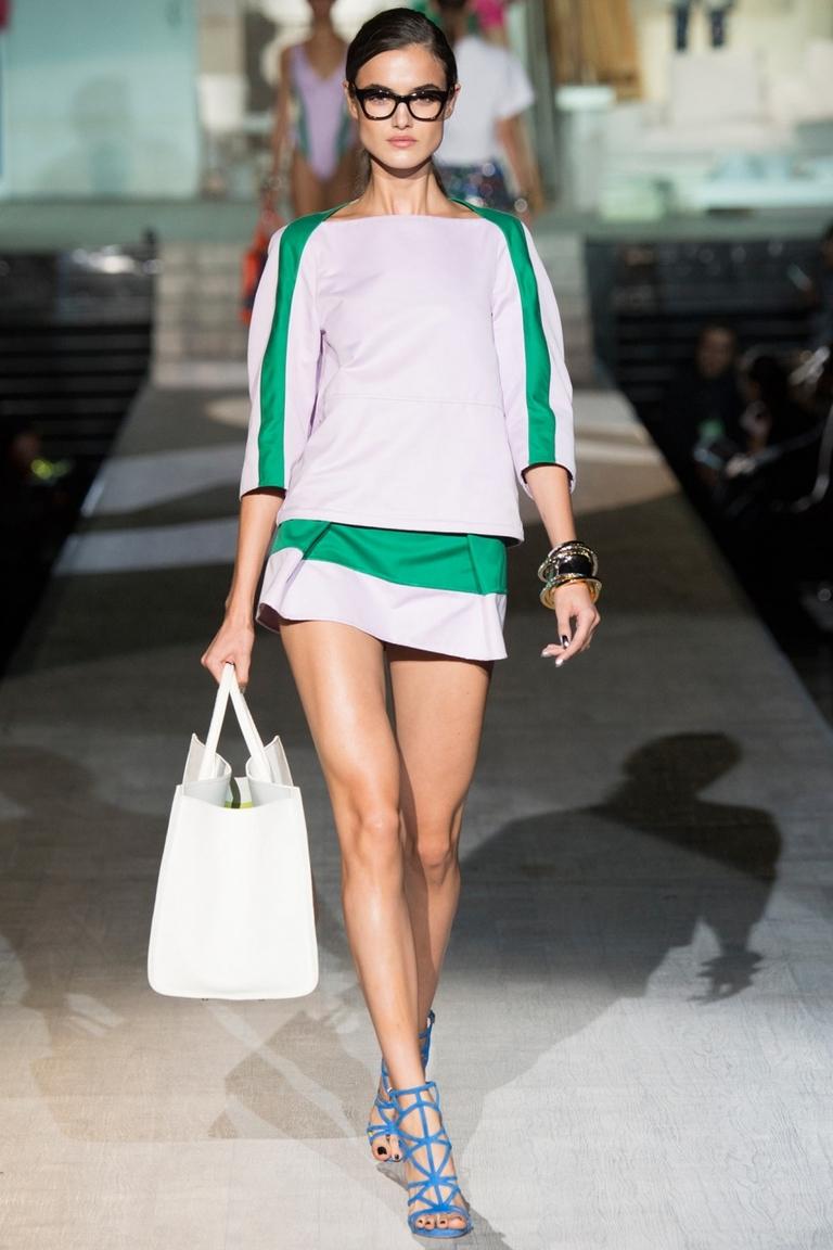 Короткая модная юбка весна — фото новинка в коллекции Dsquared²