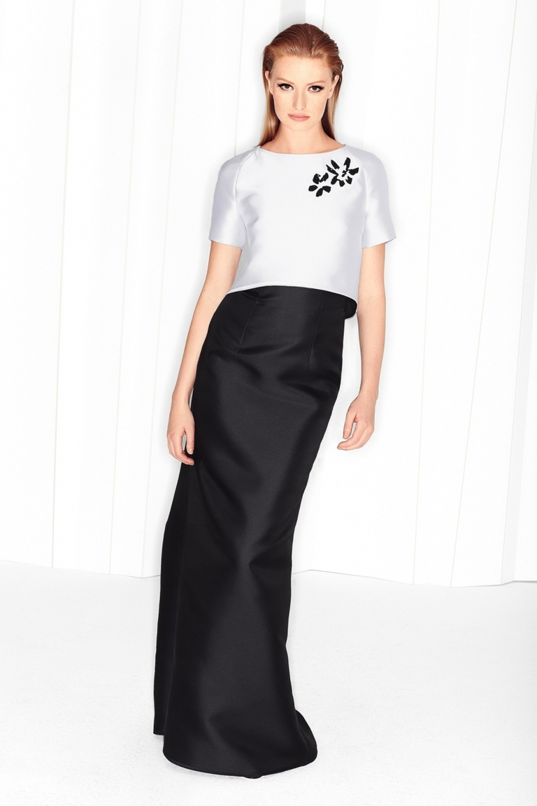Длинная модная юбка – фото новинки от Escada