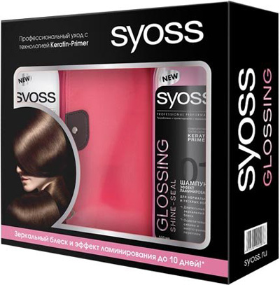 набор Syoss glossing