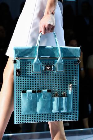 Versace сумка плетенка - то, что модно в 2015 году