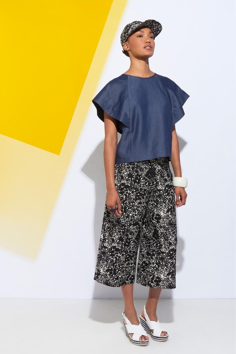Модная джинсовая блузка весна лето – фото новинка от Whit