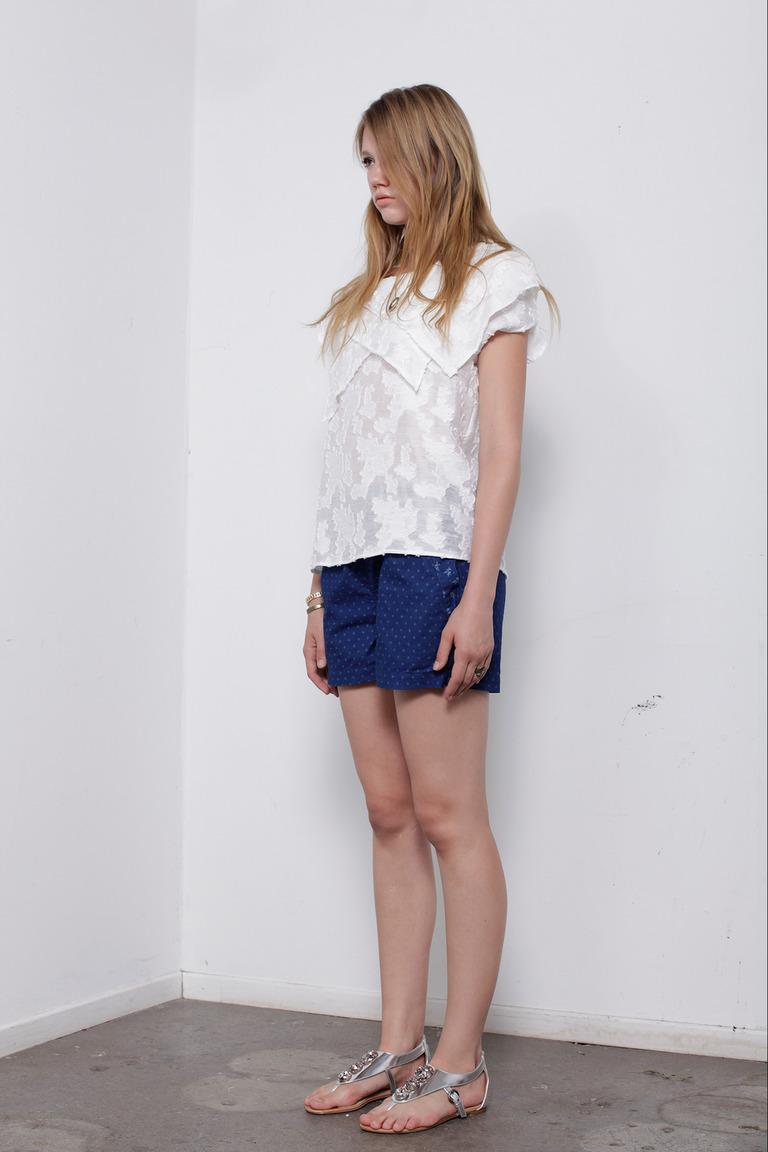Кружевная модная блузка весна лето – фото новинка от Wren