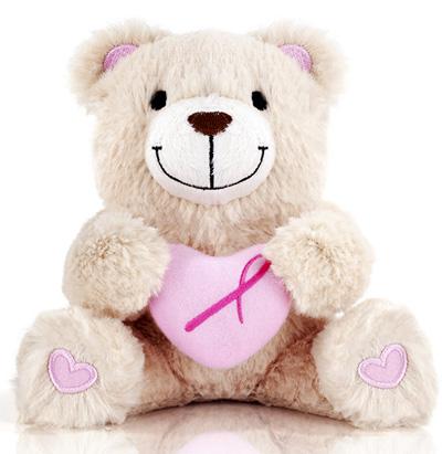 AVON-Аксессуар медведь с розовой ленточкой