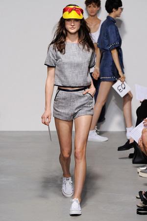 Модные короткие шорты весна лето 2015 – Adam Selman
