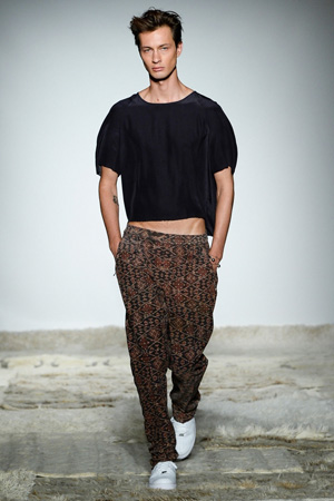Модные мужские разноцветные брюки – мужская мода 2015 Baja East