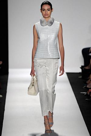 Укороченные модные брюки весна лето 2015 - Dennis Basso