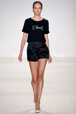 Короткие модные шорты с завышенной талией весна лето 2015 - Erin Fetherston