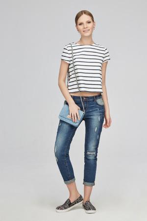 Модные джинсы весна лето 2015 в стиле кэжуал - Kira Plastinina