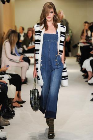 Модный джинсовый комбинезон весна лето 2015 – Sonia Rykiel