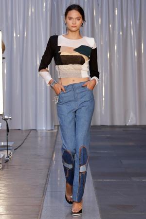 Модные джинсы весна лето 2015 с завышенной талией – Toga