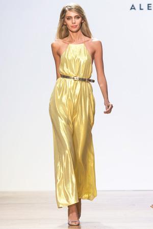 Длинное модное платье 2015 Alexander Terekhov