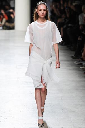 Полупрозрачное модное платье 2015 – Barbara Bui