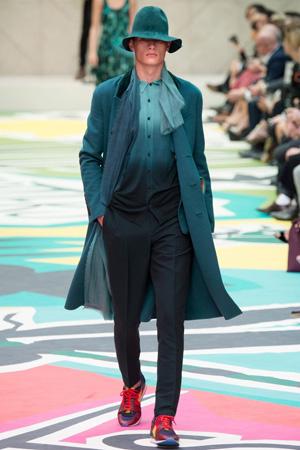 Мужская мода 2015 от Burberry Prorsum