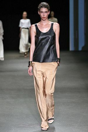Бежевые модные брюки 2015 By Malene Birger