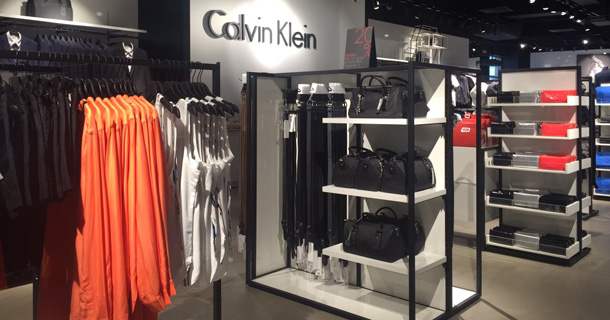 Открытие Calvin Klein в Outlet Village Белая Дача