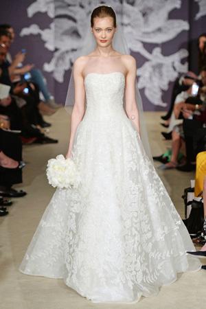 Свадебное платье мода Carolina Herrera 2015
