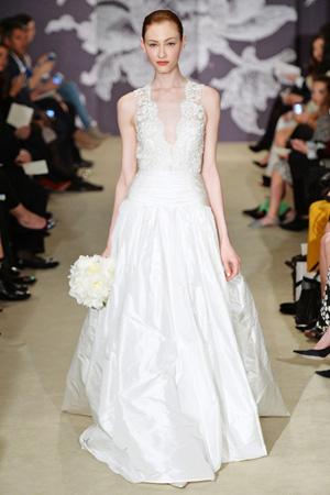 Свадебная коллекция весна лето 2015 фото Carolina Herrera
