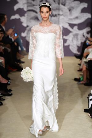 Свадебная мода 2015 фото Carolina Herrera