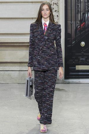 Модный костюм весна лето 2015 Chanel