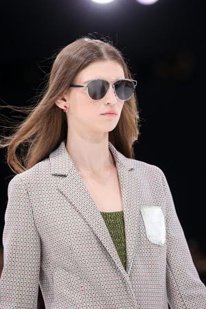 Солнечные очки авиаторы мода весна лето 2015 – Christian Dior