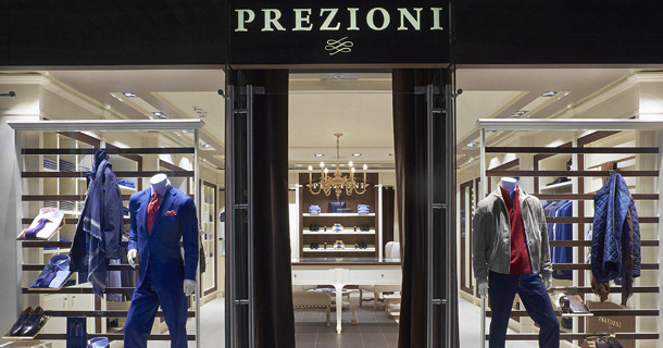 открылся итальянский бутик Prezioni