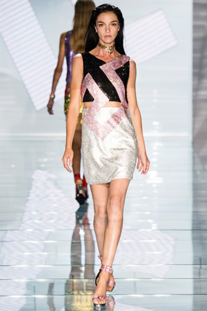 Вечернее платье Versace весна-лето 2015