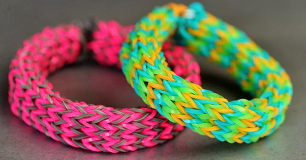 Как плести сложные браслеты на рогатке