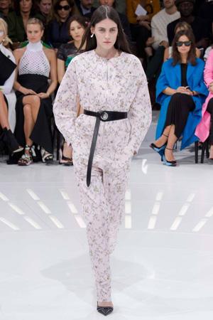 Модный комбинезон в пижамном стиле – Christian Dior