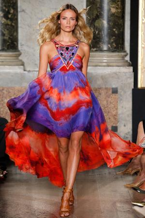 Летнее платье 2015 фото Emilio Pucci