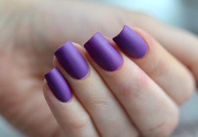 Модный матовый дизайн ногтей 2015
