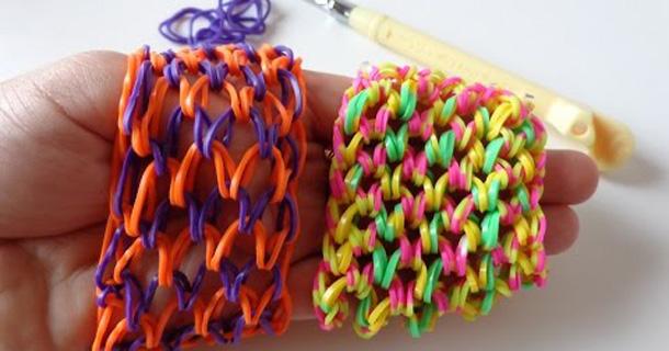 Как сделать браслеты из резинок чешуя дракона на станке