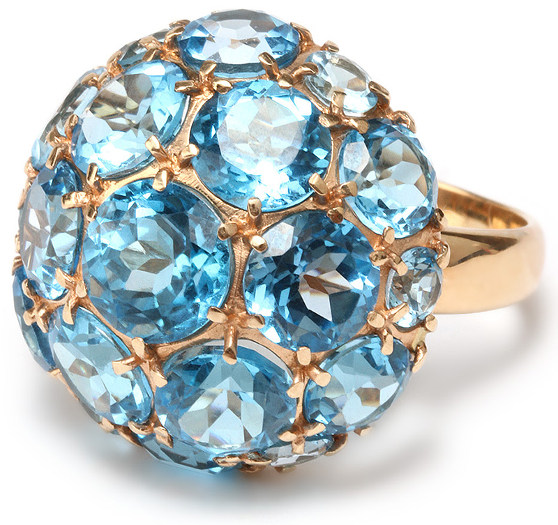 Голубой топаз - коварный или добрый камень