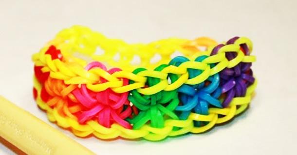 Плетения браслетов из резинок loom bands