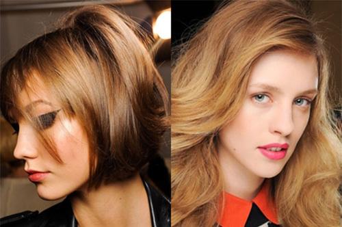 Фото модных цветов волос 2015