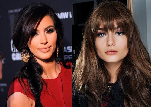 Модный цвет волос 2015: черные оттенки
