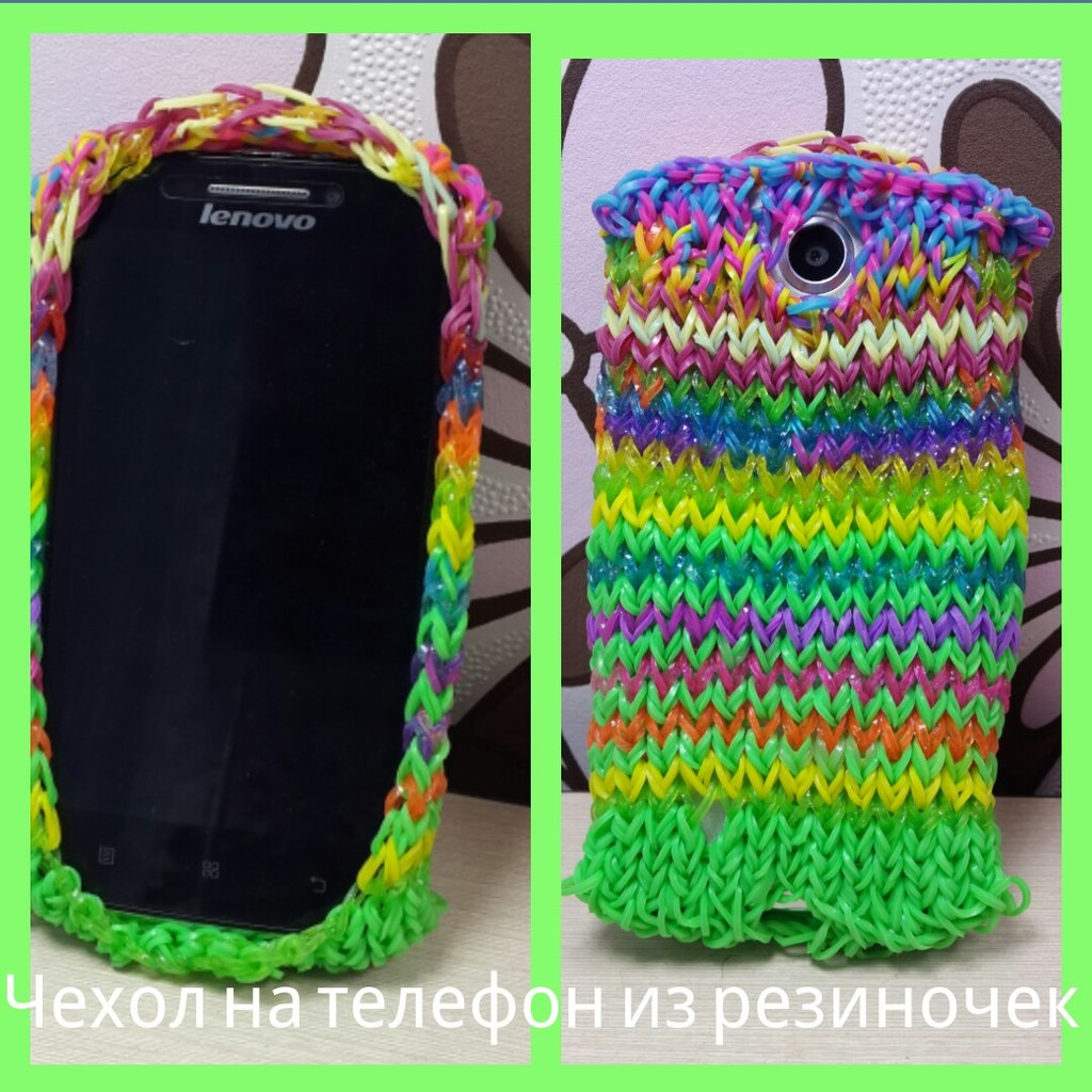 Плетение на станке из резинок – сумочки и чехлы