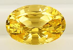 Желтый сапфир фото