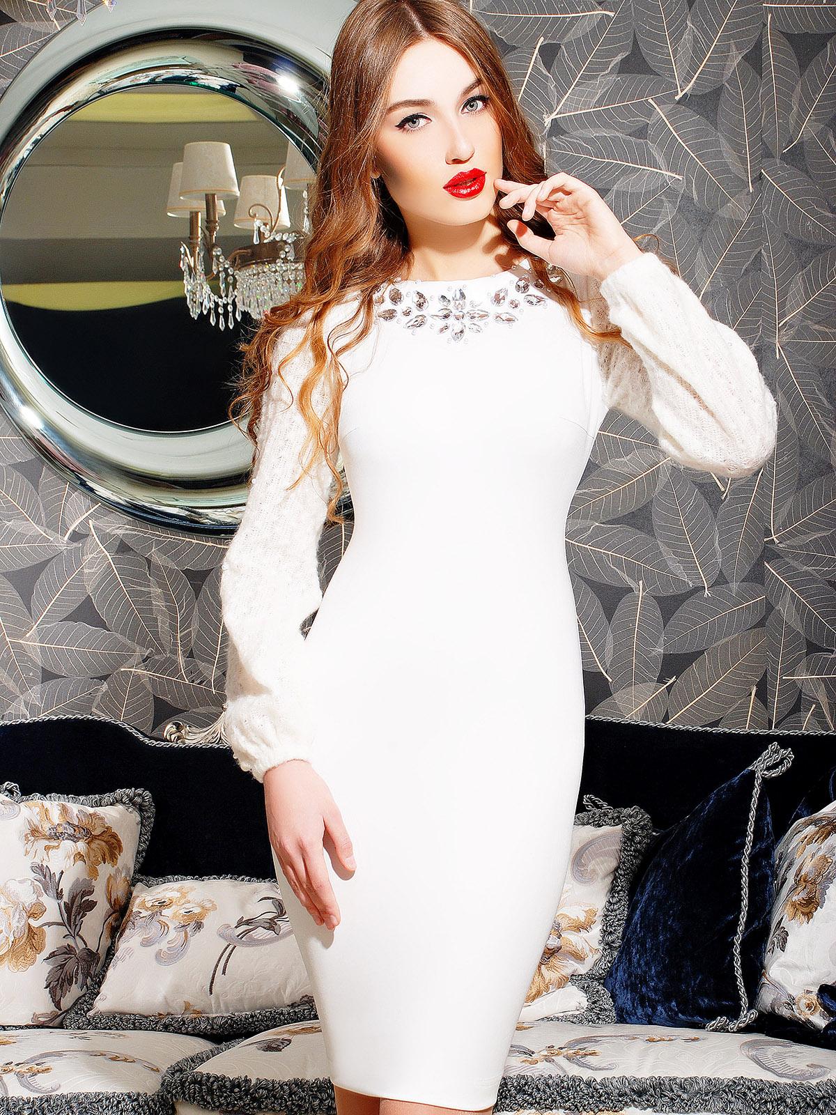 Изящное женственное платье в стиле гламур - фото новинки и тренды сезона