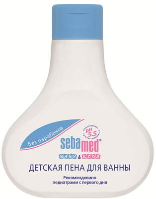 Детская пена для ванны SEBAMED, 200 мл