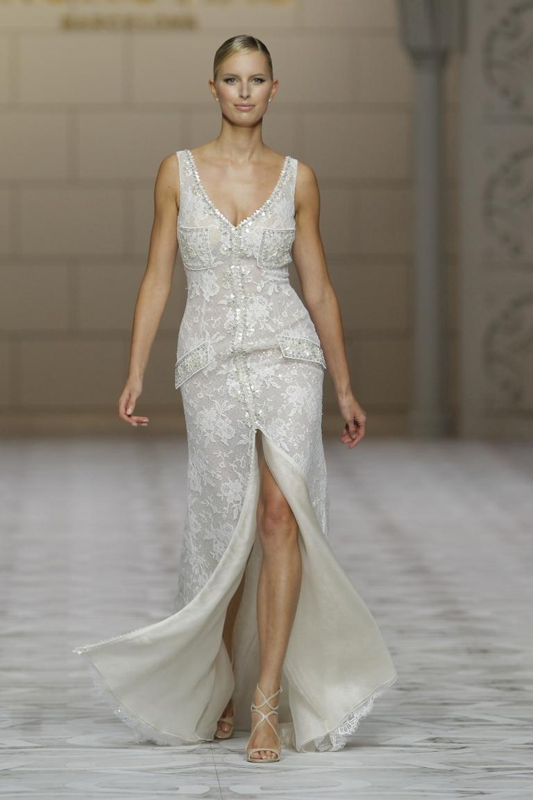 Роскошное модное свадебное платье 2016 - фото новинка от PRONOVIAS