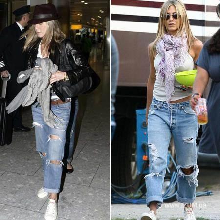 С чем сочетать джинсы фото