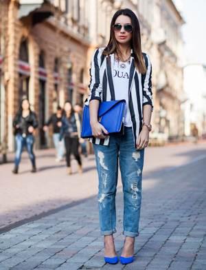 Джинсы с чем носить