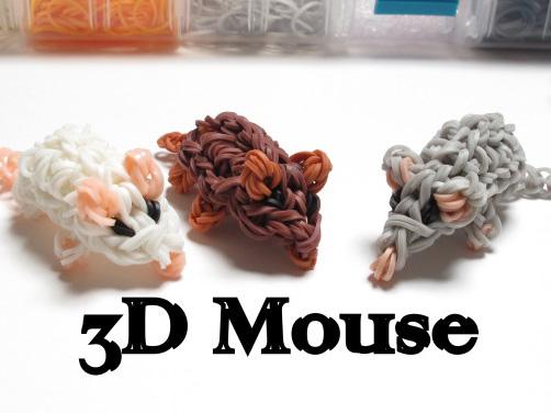 Мышки из резинок
